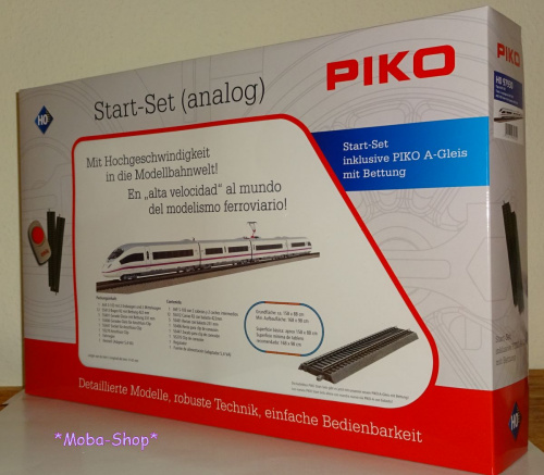 PIKO 97930 H0 Startpackung 4-tlg. ICE-3, AVE RENFE
